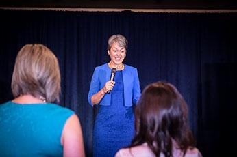 Speaker Petra Mayer