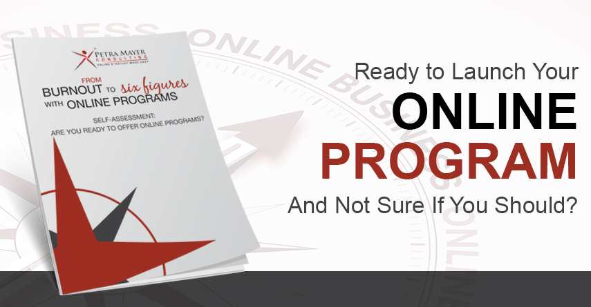 Ready to Launch Your Online Program And Not Sure If You Should?