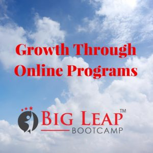 Growth Through Online Programs