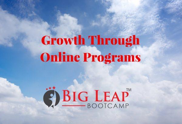 Growth Through Online Programs