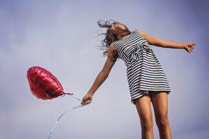 Entrepreneur woman celebrating