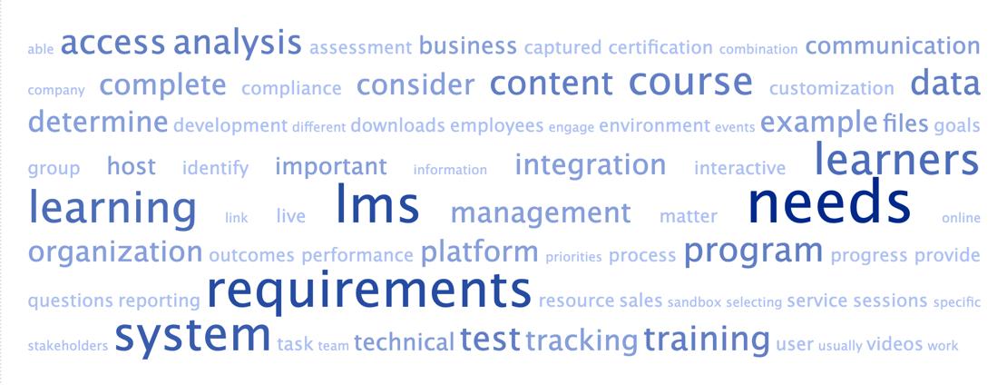 LMS Needs Assessment