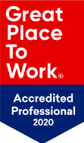 Great Place To Work Accredited Professional 2020 Badge